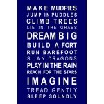 Dreams for Boys Bus Roll Poster