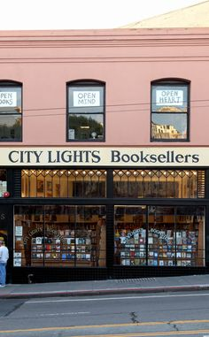 City Lights Bookstore | Travel | Vacation Ideas | Road Trip | Places to Visit | San Francisco | CA | Literary Place | Business | Music Shop | Book Shop