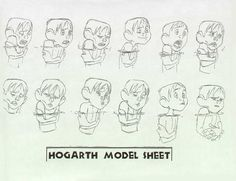 Hogarth Hughes model sheet  More model sheets from the Iron Giant at http://livlily.blogspot.com/2010/11/iron-giant-character-hogart-hughes_8177.html…  #modelsheet #irongiant