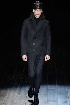 Gucci Fall 2014 Menswear Collection Slideshow on Style.com