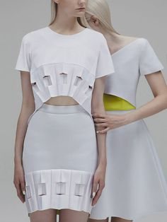 orangefashiondiary:  Sequence Collection:Designer: Gerogia Hardinge