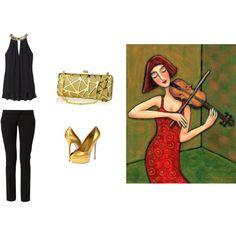"""Music & fashion"" by anamolina41 on Polyvore"
