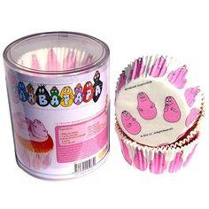 Moule en papier décoratif - Caissettes papier cupcakes : Barbapapa