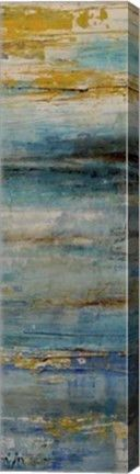 Beyond the Sea II Abstract Canvas Wall Art Print by Erin Ashley