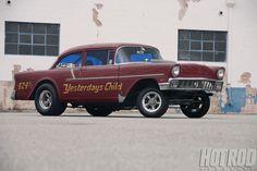 Hrdp 1207 1956 Chevy 210 Gasser Yesterdays Child 01