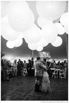 The looked magical above the Dance Floor Wedding, San Diego Wedding, Paper Lanterns, Wedding Photography, Inspiration, Biblical Inspiration, Wedding Photos, Wedding Pictures, Paper Lantern