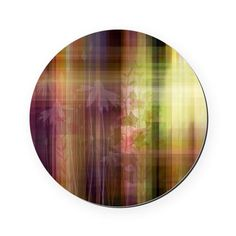 Abstract Colorful Wild Flower Art by Laci Fletcher   Cork Coaster on CafePress.com