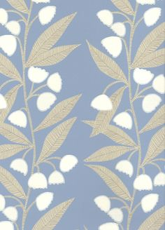 Bell Flower wallpaper from Baker Lifestyle