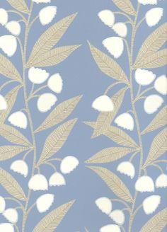 Bell Flower wallpaper from Baker Lifestyle