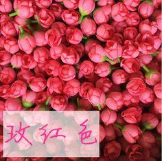 Pas cher 100 pcs/lote 2 * 3.5 CM Mini artificielle Rose bourgeon floral Wedding Party Supply gros 12 couleurs, Acheter  Fleurs décoratives et couronnes de qualité directement des fournisseurs de Chine:             200 pcs/lote 4-5 cm soie Made dentelle rose fleurs artificielles fleur tête pour mariage décora