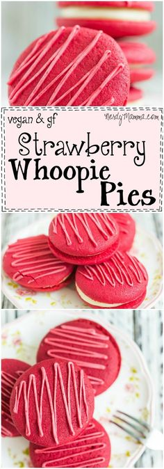 This recipe for gluten-free whoopie pies is so simple! And the strawberry Awesome. I love it--and can't wait to do this for the kids!