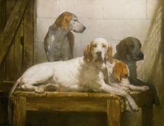 The Gorgeous Dog Art of Joseph H. Sulkowski   Orvis News