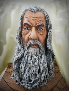 It's Gandalf?  - Cake by Olanuta Alexandra