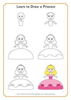 Learn to Draw a Princess