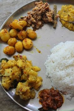 South indian lunch menu for stomach upset recipe lunch menu lunch menu 16 puli kuzhambu dal dumstick avial baby potato poriyal tapioca kootu south indian foodbaby forumfinder Choice Image