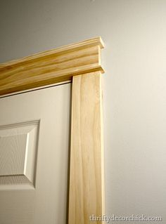Simple solution for wide trim
