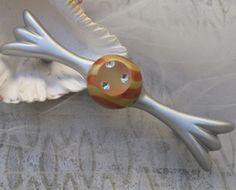 Susan Goldstick Silver/Gold/Copper Bundle5 Tempo Gold  Decorative Cabinet Pull