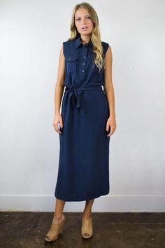 Workman Midi Dress