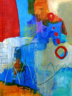 Paint Solo 11 Print By Jane Davies