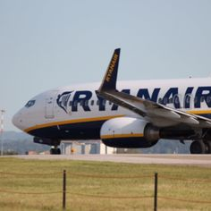 Photo of a Ryanair Boeing ready for take off at Bologna in Italy (BLQ / LIPE). Boeing Aircraft, Cargo Airlines, Airplanes, Aviation, Bologna, Commercial, British, Italy, Planes