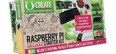 Raspberry Pi Deluxe Starter Kit No description http://www.comparestoreprices.co.uk/educational-toys/raspberry-pi-deluxe-starter-kit.asp