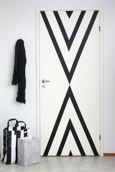 washi tape para decorar la puerta de mi armario....