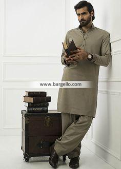 Gorgeous Mens Kurta Shalwar Pakistan Eid Kurta Shalwar for Mens