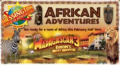 Fun-filled family break for 4 in February half term – spend a night at Chessington's safari-themed hotel, meet the characters from Madagascar and get involved with plenty of activities! #halfterm #family #kids