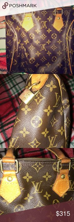 Louis Vuitton Speedy from 2005 I bought this on Rodeo Drive in Cali in 2005. I haven't used it for over 10 years. Good used condition. I've had the outside cleaned over the years. Please give her a new home! She'll make someone very happy. Thanks. Louis Vuitton Bags Satchels