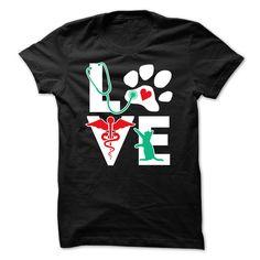 Veterinarian Love cat
