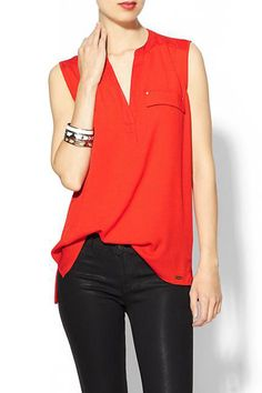 Calvin Klein Red..Great Warm look..