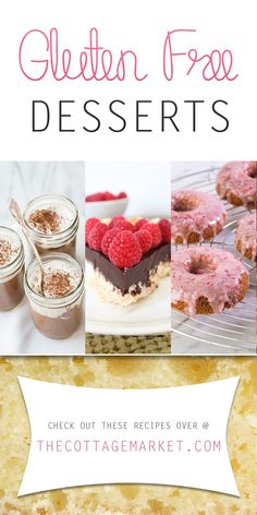 Gluten Free Desserts - The Cottage Market