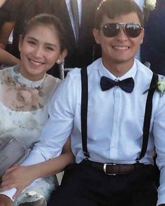 Sarah, Matteo display sweet moments at a wedding First Site, Wedding News, Geronimo, Pinoy, Filipino, Number One, Ph, Display, In This Moment