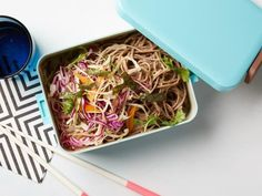 Healthy Peanut Soba Noodles with Vegetable Salad Recipe | Food Network Kitchen | Food Network