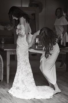 Real Wedding / Lucy & Andrew / Wedding Style Inspiration / LANE