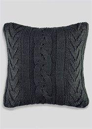 Cable Knit Cushion (48cm x 48cm) - Matalan £12