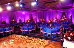 Wedding-Reception-Lighting #Purple wedding receptions ... Wedding ideas for brides, grooms, parents & planners ... https://itunes.apple.com/us/app/the-gold-wedding-planner/id498112599?ls=1=8 … plus how to organise an entire wedding, without overspending ♥ The Gold Wedding Planner iPhone App ♥