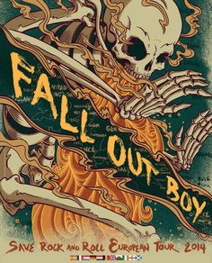 Fall Out Boy - Save Rock and Roll European Tour 2014