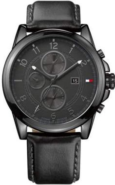 Tommy Hilfiger - Men s Tommy Hilfiger Black Multifunction Watch 1710295 -  Walmart.com 7ebbef25e6f