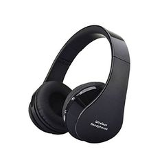 Tonsee Foldable Wireless Bluetooth Stereo Headset Handsfree Headphones Mic *** You can get more details by clicking on the image.