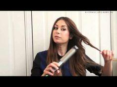 How I Style My Hair - Golvende krullen - YouTube