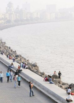 Mumbai, India. Many films were made here on this strip! Awesome