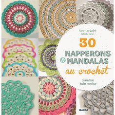 20 napperons & mandalas au crochet                                                                                                                                                     Plus