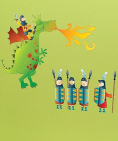 Eloy the Dragon Wall Decal by Cool Spaces (zulily)