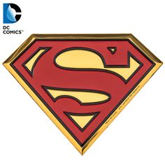 Superman Logo Metal Sticker