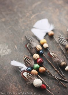 Add bohemian flair to your Christmas decor this season with these easy DIY Rustic Twig Arrow Ornaments!