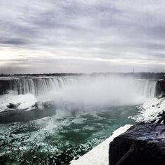 Niagara Falls (Canadian Side) Experience the incredible power and beauty of Niagara Falls. At Ontario's Niagara Parks, you can get as close as you can to the white water. Then dine with an astonishing view of the parks natural beauty.