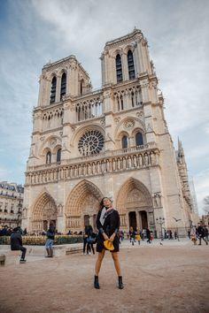 """If the Trip Eiffel is the symbol of Paris, the Cathédrale de Notre-Dame de Paris is its heart. Sitting on the banks of the Seine, this wonderful architectural work of art is a definite """"must-see"""". Paris Travel, France Travel, Paris Photography, Travel Photography, Opera Garnier Paris, Triomphe, Belle Villa, Spots, Paris Photos"""