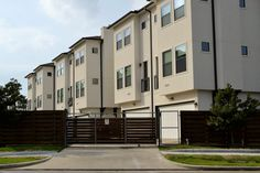 When I'm looking at different types of houses, I split them into two categories: different architectural styles and different types of residential bui. Duplex House, Cool Apartments, Gate Design, Affordable Housing, Types Of Houses, Gated Community, Rental Property, Private Property, Architecture