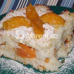 Fotografie receptu: Rýžový nákyp s meruňkami
